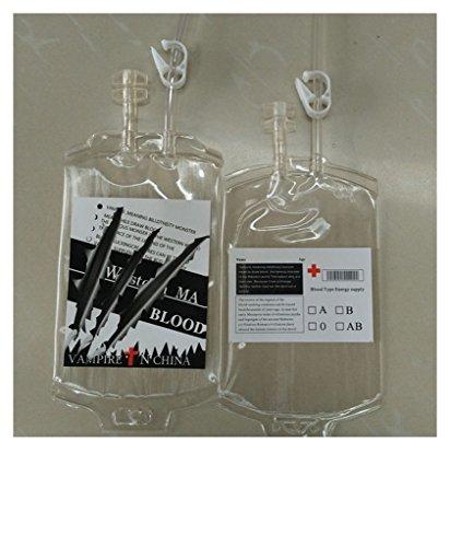 Blut trinken Energie-Beutel Halloween-Beutel-Props (Energie Halloween)