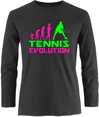 EZYshirt® Tennis Evolution Herren Longsleeve