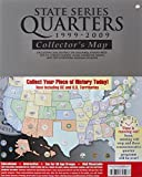 State Series Quarters 1999-2009 Collectors Map: Including the District of Columbia, Puerto Rico, the U.s. Virgin Islands, Guam, American Samoa, and the Northern Mariarna Islands by Whitman Publishing (2010-08-24)