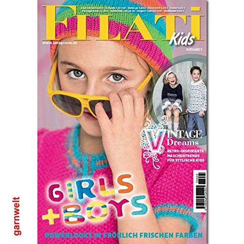 Lana Grossa Filati Kids 5 Strickheft mit Strickanleitungen