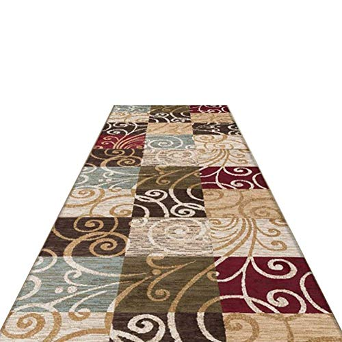WJS Teppich Home Porch Aisle Full Shop Treppen Einfach Modern Anpassbar, Soft Cut (Farbe : A, größe : 1.2 * 4m)