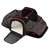 Wasserdichte Hund Auto Booster Seat Carrier Tragbare faltbare Träger mit Sicherheitsgurt Pet Warm Sleeping Bed