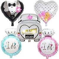 5 Unids globos xl novio novio coche de novios anillo.. ideales para la decoracion de tu boda, en cada mesa de invitador, en la de niños, en carrito de ...