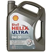 Shell Helix Ultra ECT C2/C30W-30, Huile Moteur 5litres