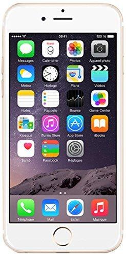 Apple iPhone 6 Smartphone (11,9 cm (4,7 Zoll) Retina HD Display, M8 Motion Coprozessor, 8-Megapixel iSight Kamera, 1080p, 16GB interner Speicher, Nano-SIM, iOS 8) gold (Generalüberholt)