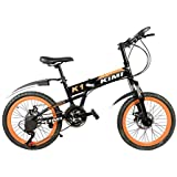 Gogo A1 Kimi 20 Inch Foldable / Folding Mountain Bike / Bicycle With Spoke Wheels 7 Speed Gear And Disc Brake