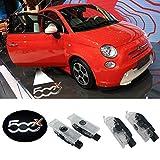 2PCS Car LED Door proiettore LED luce di cortesia fantasma ombra logo luci per 500x