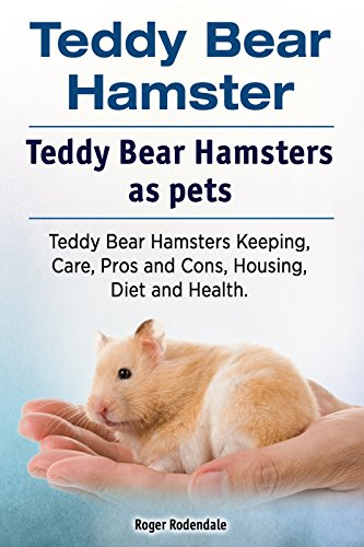 Teddy Bear Hamsters. Teddy Bear Hamster pet. Teddy Bear Hamster Keeping, Pros and Cons, Diet, Health and Care.  (English Edition) (Hamster Bear Teddy)