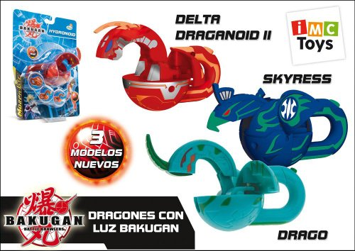 IMC Toys Bakugan 420007�Morp Hlite, 3�different designs