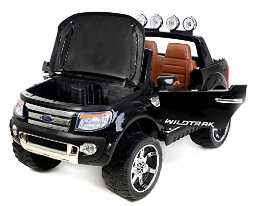 ford ranger elektro auto f r kinder schwarz. Black Bedroom Furniture Sets. Home Design Ideas