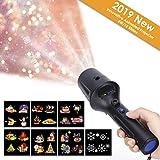 2019 Neujahr LED Projektor Taschenlampe