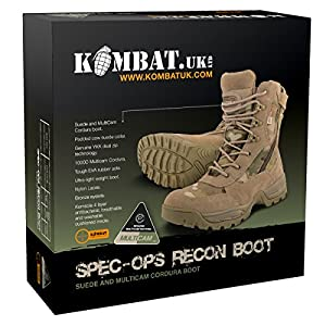 Spec ops Recon bottes Camouflage