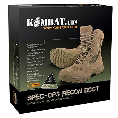 Kombat UK Herren spec-ops Recon Stiefel Multi-Cam