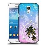 Head Case Designs Kokospalme Traum Doodle Ruckseite Hülle für Samsung Galaxy S4 Mini I9190