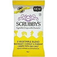Scrubbys 3 De Verduras Fritas Mezcla 90G - Paquete de 4