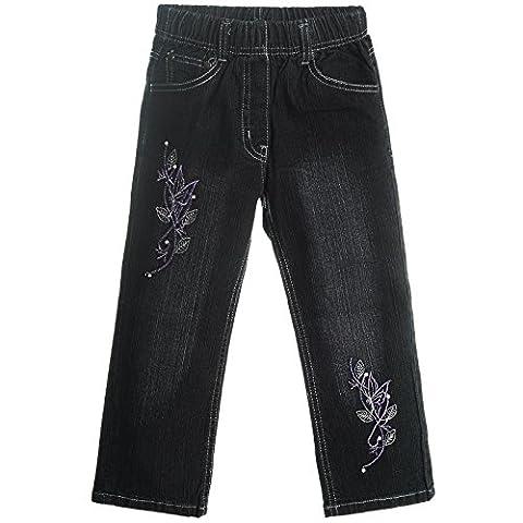 Mädchen Stretch Jeanshose Röhrenjeans Kinder Lange Jeans Hosen Jeggings 21406,