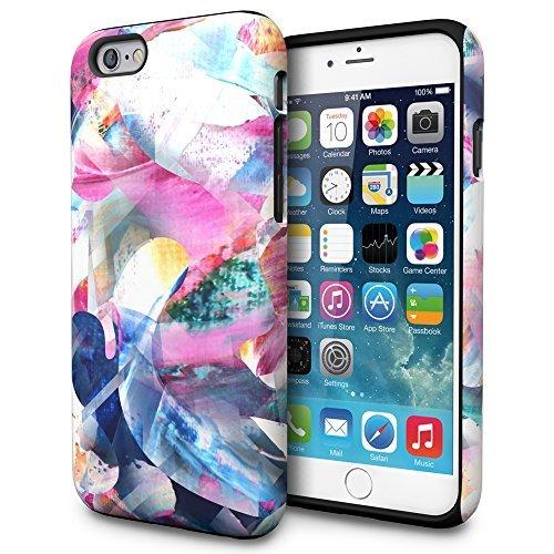 TORU iPhone 6s Hülle, [Dual Layer Pattern] [Farbig] Handyhülle Designer-Muster [Motiv][Bunt] für iPhone 6/6s - Artist's Dream (Muster Artist)