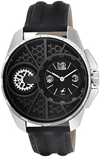 Fastrack Analog Black Dial Men's Watch - 3133SL01 image