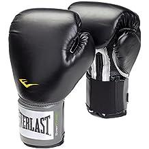 Everlast Pro Style - Guantes de boxeo, color negro, talla 14oz
