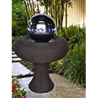 Odyssey-Fontana a LED blu da 59 x 83 x 59