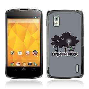YOYOSHOP [Funny Zelda Link In Park Linkin Park] LG Google Nexus 4 Etui Housse Coque