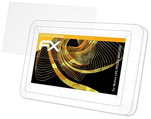 atFoliX Schutzfolie für Medion Life P85066 (MD87566) Displayschutzfolie - 3 x FX-Antireflex blendfreie Folie