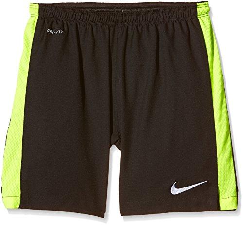 Nike, Pantaloni corti sportivi SQUAD STRIKE, Nero (Black/Volt/White), XS