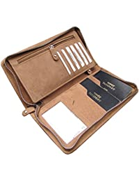 ABYS EID Special Gift-Genuine Leather Women Clutch  Hand Bag  Coin Purse  Card Holder  Passport Holder  Long Wallet...