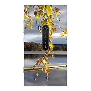 Neo World Season Of Fall Back Case Cover for Lumia 920