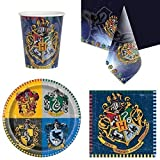 Harry Potter couverts de fête lot pour 8