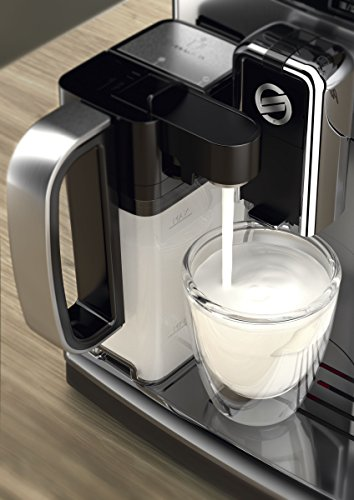 Saeco HD8927/01 PicoBaristo Kaffeevollautomat (1450 Watt, integriertes Milchsystem) edelstahl - 4
