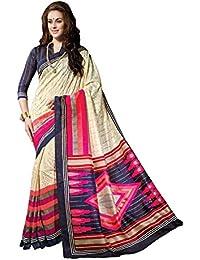 Bhavi Saree Tassar Silk Saree (Bhvp13347_Multicolor)