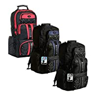 large 65 litre travel hiking camping rucksack backpack holiday luggage bag