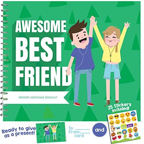 Best Friend Geschenke–ein sehr spezielles, Lustige und einzigartige Anerkennung Award Booklet für Ihre Best Friend. Prime Versand Braclets