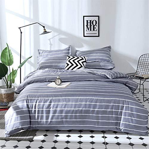 YUNSW Luxury Cotton Quilted Cover Bettbezug Tröster Quilt Blanket Case Cover Königin König Voll Königin Größe B 150x200cm - Tröster Set-blau-gold König
