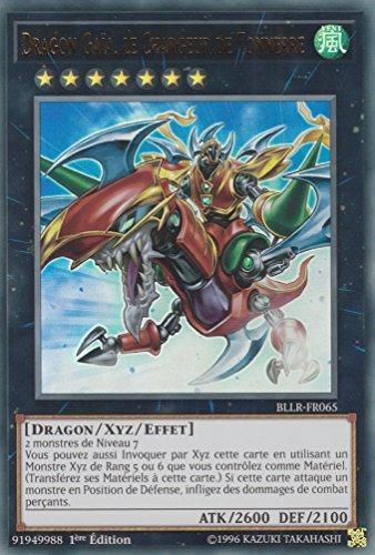 "Carte Yu-Gi-Oh! ""Dragon Gaia, le Chargeur de Tonnerre"" BLLR-FR065 - VF/ULTRA RARE"