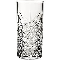 Utopía p52800Timeless Vintage largo bebida cristal, 15,75oz, 45cl (Pack de 12)