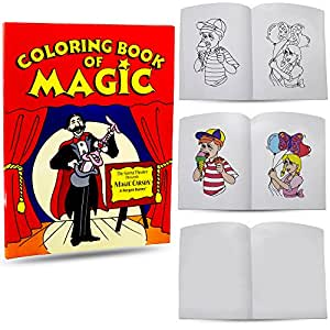 color changing book easy magic trick magic coloring book - Coloring Book Magic Trick