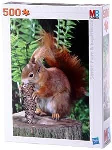 Mb Puzzles - 396762860 - Puzzle - 500 Pièces N° 1 - Le Festin de l'écureuil