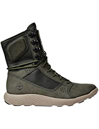 Timberland Men s Limited Release Flyroam Tactical Leather Boots Dark Green  Tb0a1oal 8 D(M) cd983a12c0c6d