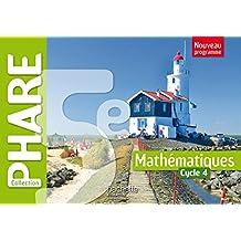 Phare mathématiques cycle 4 / 5e - Livre élève - Nouveau programme 2016