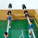 """Tischfussball """"Glasgow"""" Buche inkl. Zubehör Set, 2 Getränkehalter, höhenverstellbare Füße, nahtlos hochgezogene Spielfeldecken, Tischkicker, Kicker, Kickertisch - 6"""