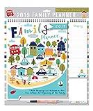 Tallon, Calendario Agenda familiare per Il 2018, Blocco per Gli Appunti, con Penna e Lista della Spesa, con Scritta in Inglese Bears of The Wood