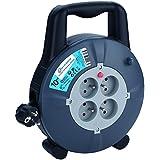 Electraline 29008 Enrouleur Rallonge Ménager Domestique 10m 16A - Section 3G1,5 mm²