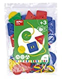 APLI Kids - Botones ensartables 48 uds.