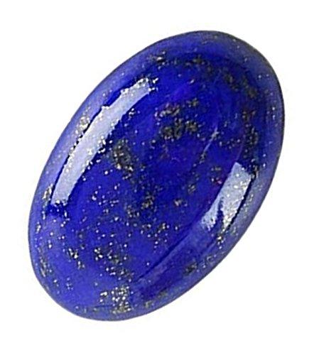 Lab Certified Original Lapis Lazuli/Lajward Gemstone 9.35 Carat by AKELVI GEMS