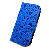 Best Samsung Galaxy S4 Cases - KolorFish Cartoon Love Printed Leather Flip Case Cover Review