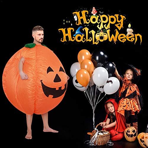 Rstant Aufblasbares Kostüm Halloween Adult Cosplay Lustige Kleidung mit Handschuhen für Ostern Halloween Party - Aufblasbare Dinosaurier Kostüm Billig