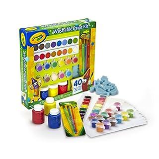 Vivid Crayola Kinder-Farbset, einfach abwaschbar, 40Teile