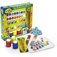 Crayola Set Pinturas Kids 40 pzas 31x30, (54-0155)
